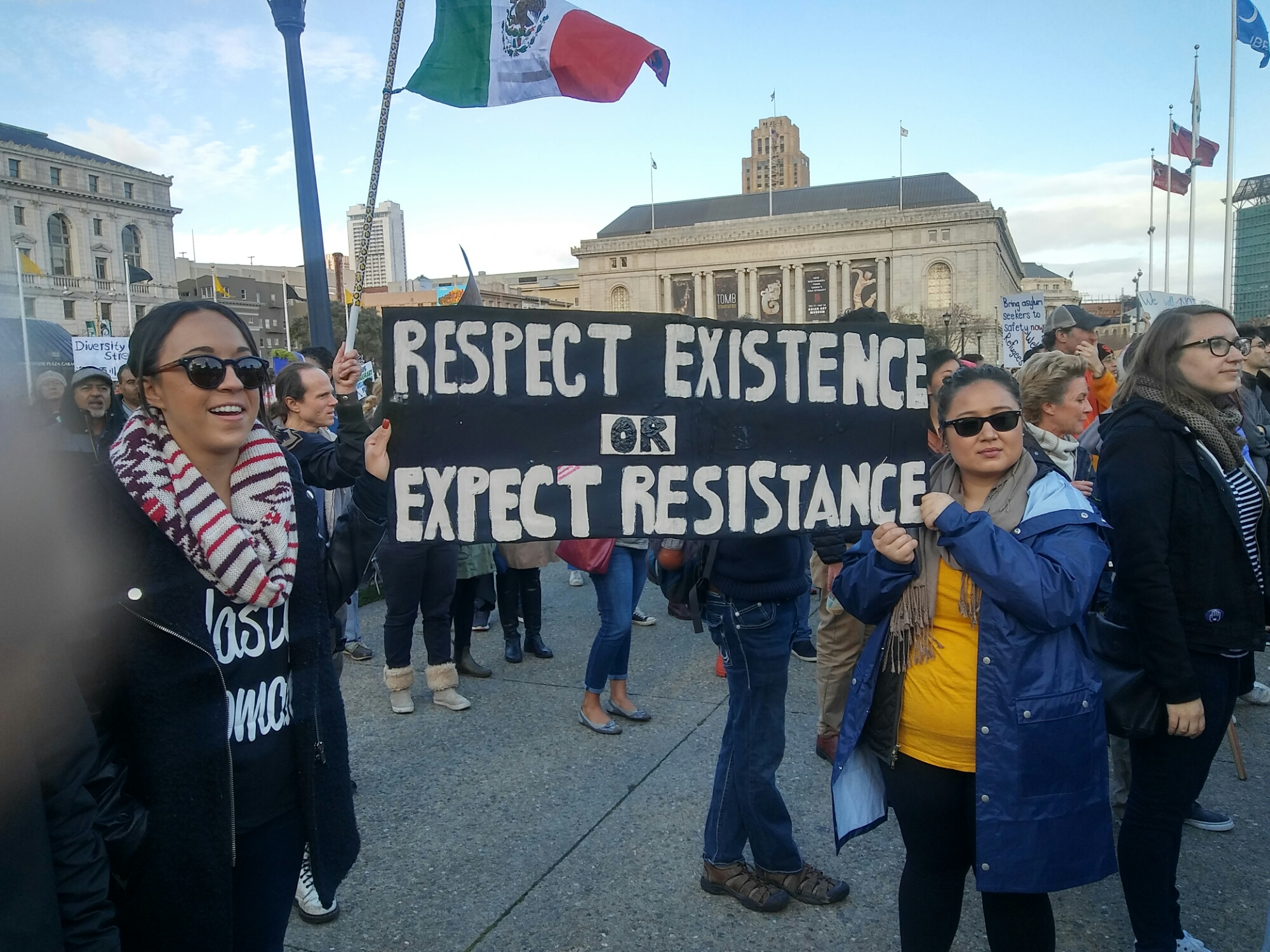videos photo essay from no ban no wall protest in san francisco videos photo essay from no ban no wall protest in san francisco 2 4 2017